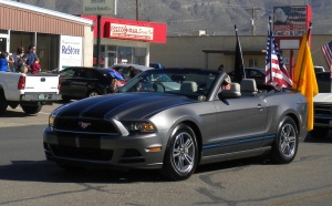 FLAG MUSTANG